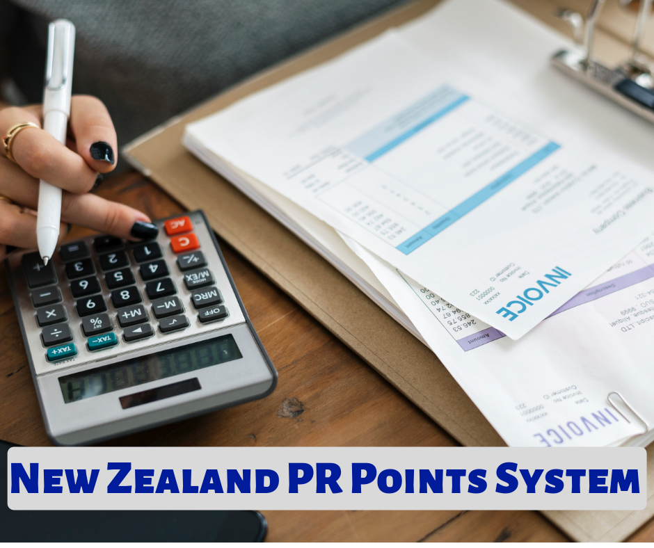 New Zealand PR Points Calculator 2019 | NZ Points System